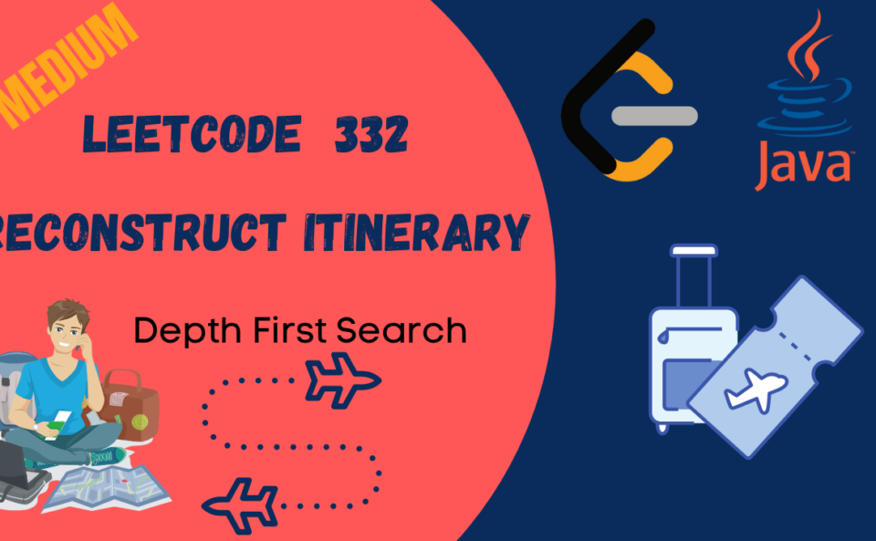 Leetcode Reconstruct Itinerary Java Solution