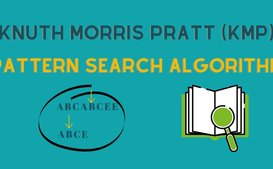 kmp search algorithm